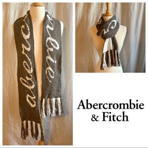 Abercrombie & Fitch Reversible Logo Scarf